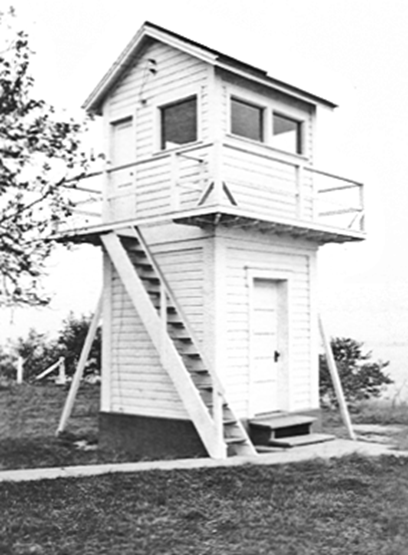 Fog Bell two story Building