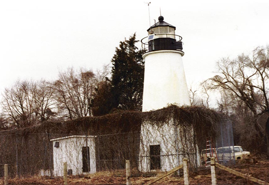 Lighthouse in July 1979