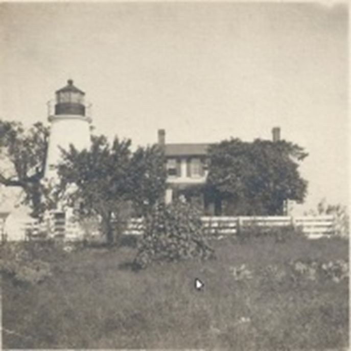 Turkey Point Lighthouse and house